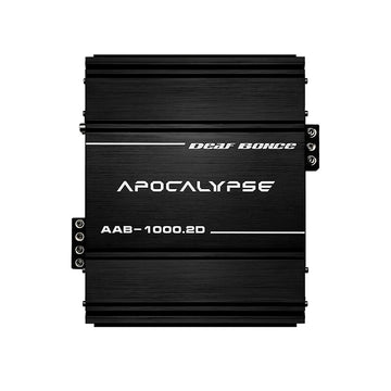 Deaf Bonce Apocalypse AAB-1000.2 2 Channel 1000W Class D Competition Amplifier