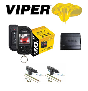 Viper Color OLED 2-Way Remote Start + DB3 Bypass Module + 2 Door Locks 5906V