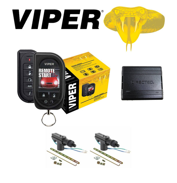 Viper Color Oled 2-Way Remote Start + Db3 Bypass Module 2 Door Locks 5906V Consumer Electronics >