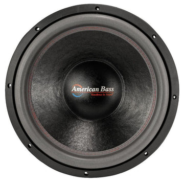 "American Bass 15"" HD 4000W Dual 2 Ohm Competition Subwoofer HD-15-D2"