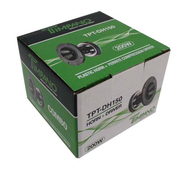 Timpano 200W 1 Ferrite Compression Horn Driver 8 Ohm Tpt-Dh150 Consumer Electronics > Vehicle & Gps