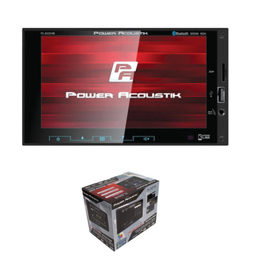 "Power Acoustik 2-DIN Multimedia Receiver 6.2"" LCD w/ Bluetooth, AUX, USB, & DVD"