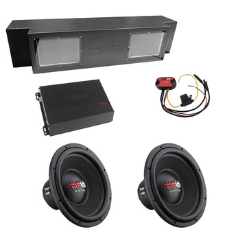 DS18 2000W JSUB.2 Combo with 2 x Z-VX12.4D Subs + FRX2K Amp + LED-BTCDRM