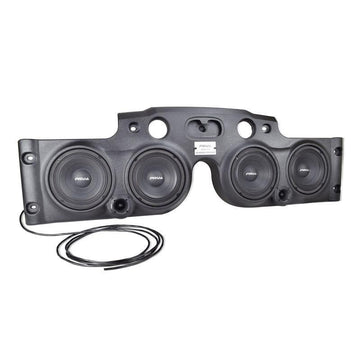 "2040W Black Jeep Wrangler JK/JKU Soundbar 4 x 8"" Loudspeakers 2 x Tweeters"