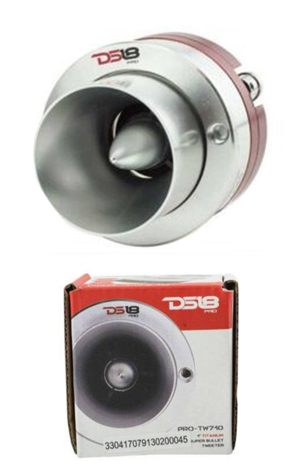 "DS18 PRO-TW710 1"" Super Tweeter with High Compression Titanium Bullet"