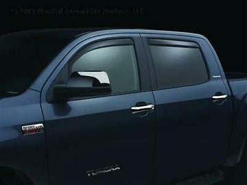 Rain Guards In Channel Low Profile 3M Smoked 07-2020 Toyota Tundra Crew Max