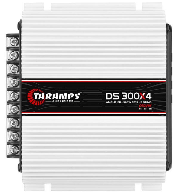 Taramps 300W 2 Ohm 4 Channel Full Range Class D Amplifier With Player Ds300X4 Consumer Electronics >