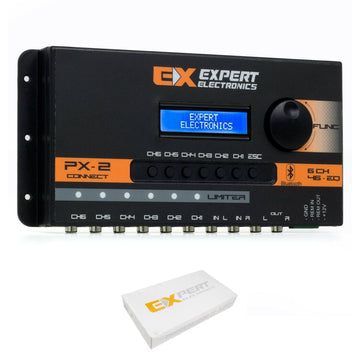 Expert Electronics 6 CH Bluetooth Equalizer 48 Band Sound Processor PX2 Connect