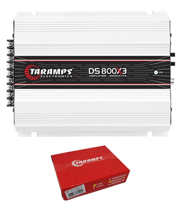 Taramps 800W RMS 1 Ohm 3 Channel Full Range Class D Amplifier Module DS800X3