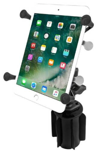 Ram Stubby Automotive Cup Holder Tablet Mount With Universal X-Grip