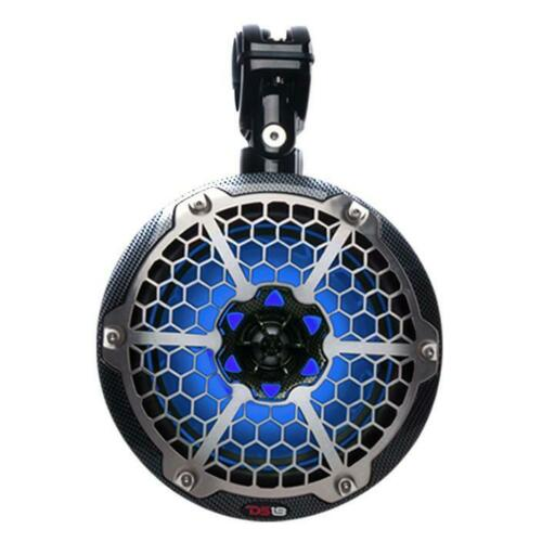 2X Ds18 Hydro Cf-8Utv 8 Slim Wakeboard Pod Tower Speaker 450W Rgb Led Light Consumer Electronics >