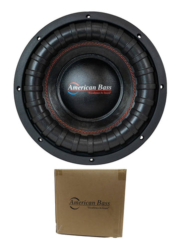 "American Bass 10"" XFL series 2000W Dual 4 ohm Subwoofer XFL 1044"