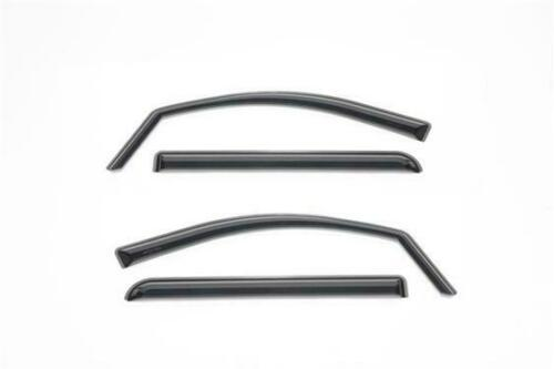 Low Profile In Channel Rain Guards 3M Tinted 14 -19 Chevy GMC 1500/ 2500/3500 HD