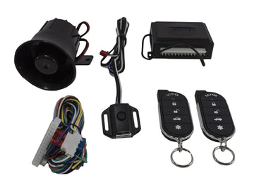 Car Alarm Anti Theft Security System G27 Scytek + 4 x Power Door Lock Actuators