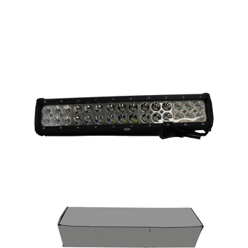 "DS18 15"" 90W Offroad High Powered Waterproof Dual Row LED Light Bar"