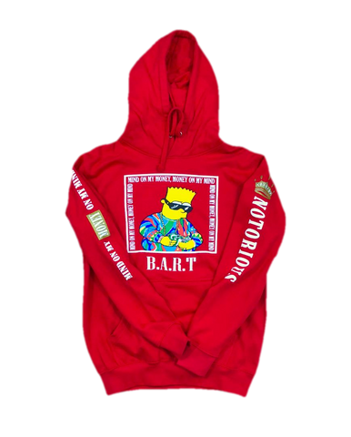 Notorious B.A.R.T Fleece Pullover Hoodie