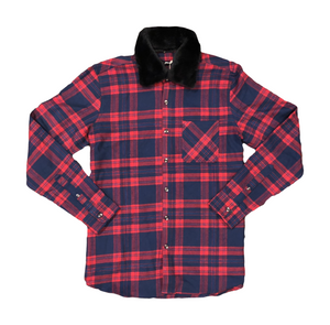 Focus Woven Plaid Button Down