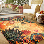 Mandala Sunrise Area Rug