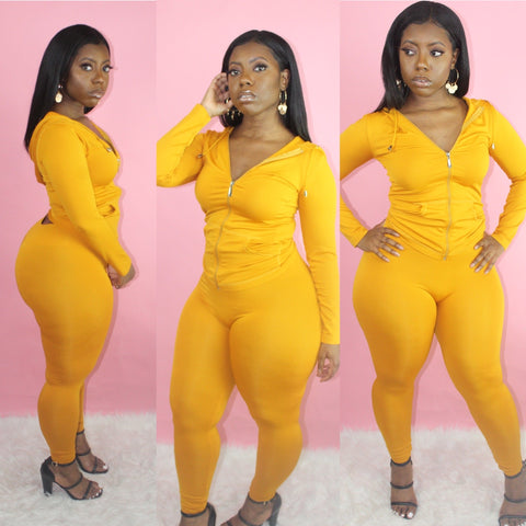 Lounging Set (Mustard)