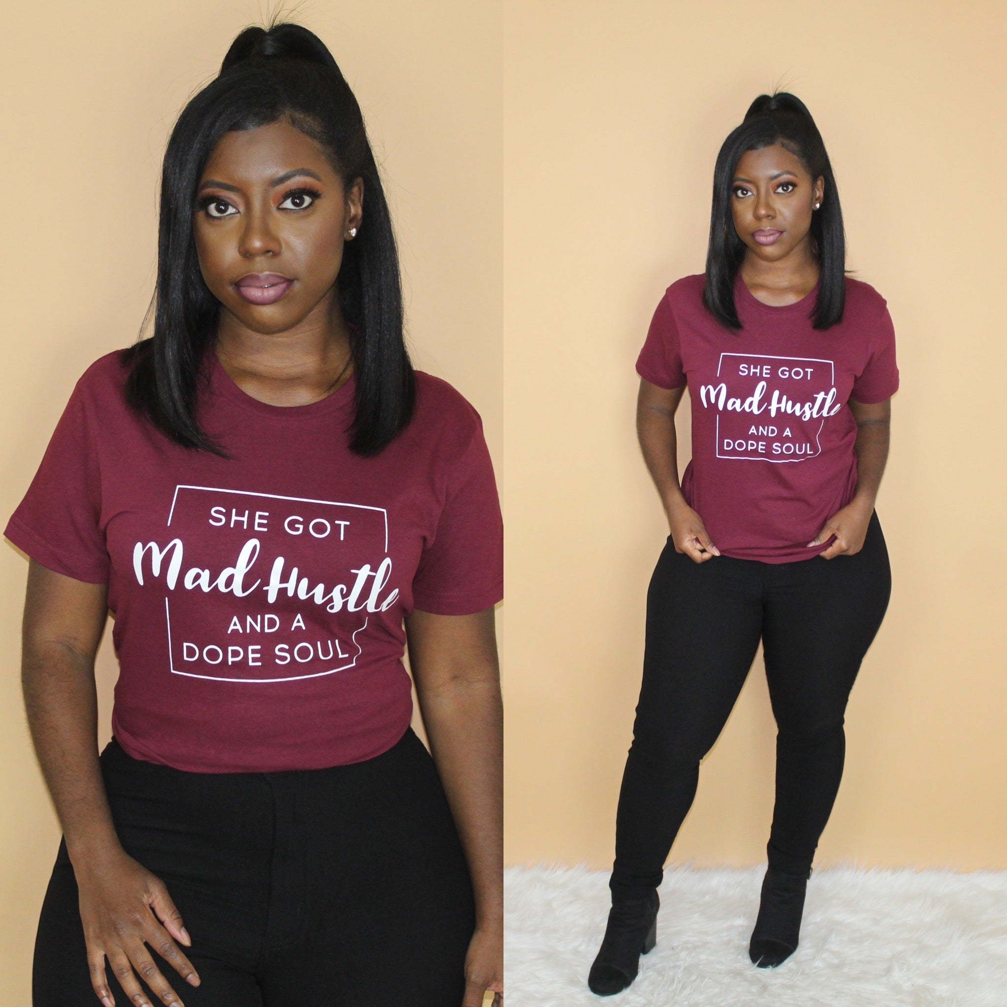 Mad Hustle (Burgundy)