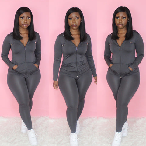 Lounging Set (Charcoal)