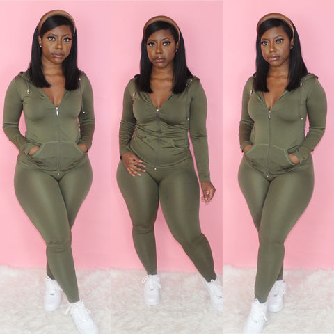 Lounging Set (Olive)