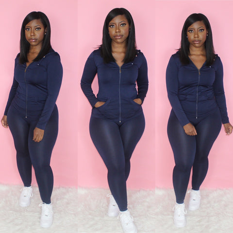 Lounging Set (Navy)