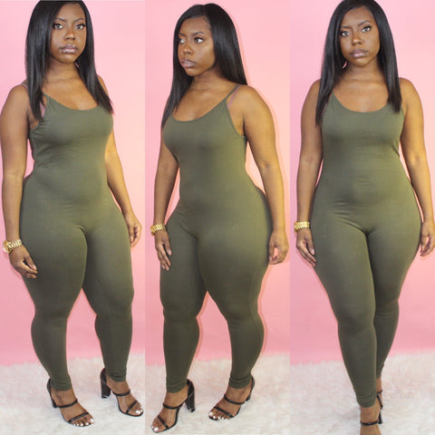 Shay Jumpsuit(Olive)