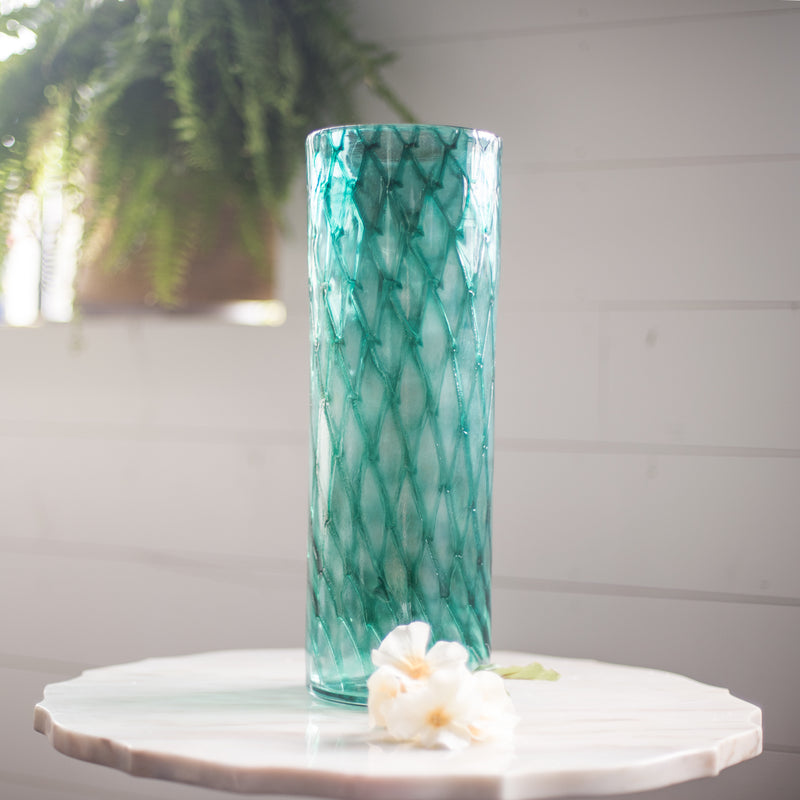 Memorial Glass Art: ash infused vase