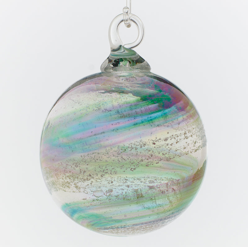 Memorial Glass Art: ash infused ornament