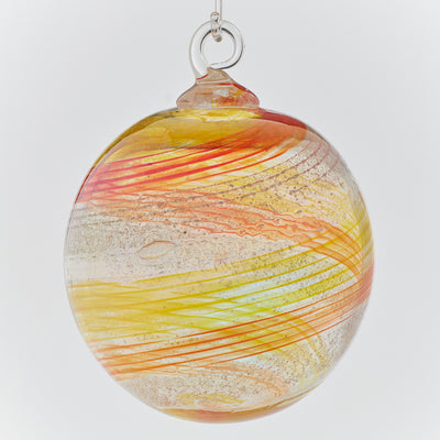 Memorial Glass Art: ash infused suncatcher ornament