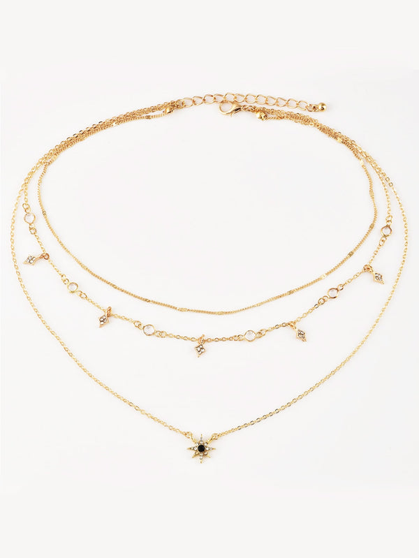 Star Charm Layered Chain Necklace - Marra's Dream
