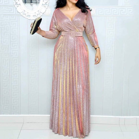 2019 Reflective Long Dress Women - Marra's Dream