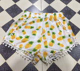SunFlower Floral Shorts - Marra's Dream