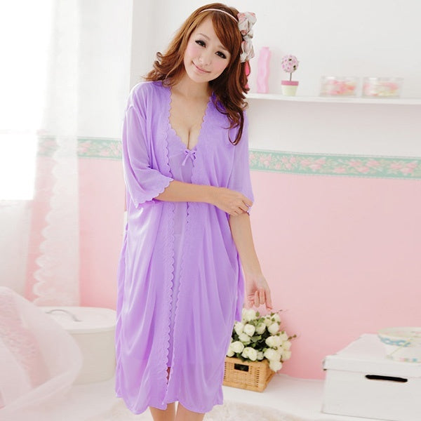 Ladies Women  Sleepwear Nightdress  Pajama Set - Marra's Dream