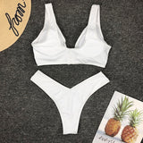 Zipper Push-Up Bikini - Marra's Dream