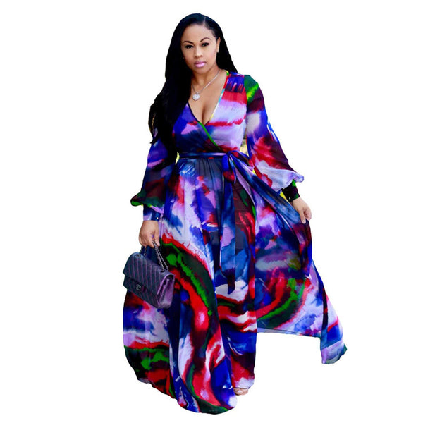 African Clothing Maxi Dress Long - Marra's Dream