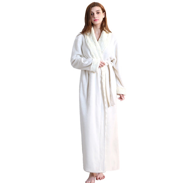 Bathrobe For Women Couple Bathrobe Set Mens Nightgown 100% Polyester - Marra's Dream