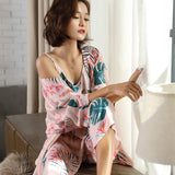 New Ladies Fashion Sexy Silk  Sleepwear - Marra's Dream