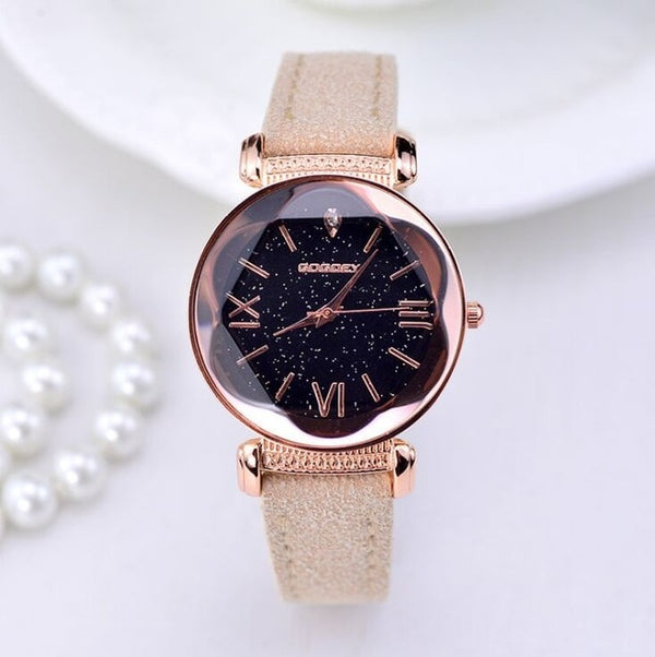 New Fashion  Leather Watches Women ladies casual - Marra's Dream