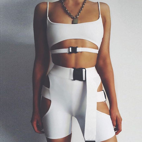 Two piece set top and pants tracksuit