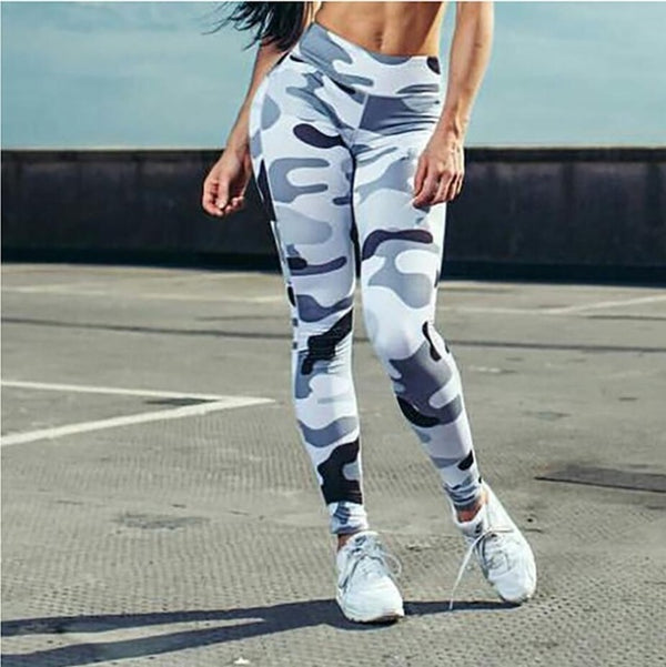 Fashion Camo Workout Leggings - Marra's Dream