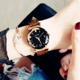 Luxury Rose Gold Women Watches Fashion Elegant Magnet Buckle - Marra's Dream