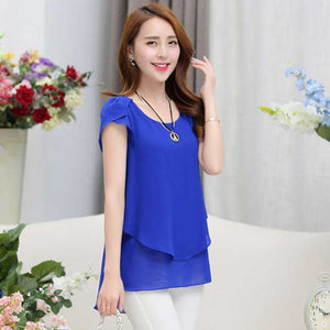 Women's blouse Summer  Tops 6 colors - Marra's Dream