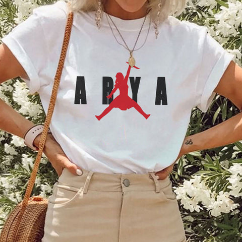 Summer T Shirt Print Vintage Aesthetic