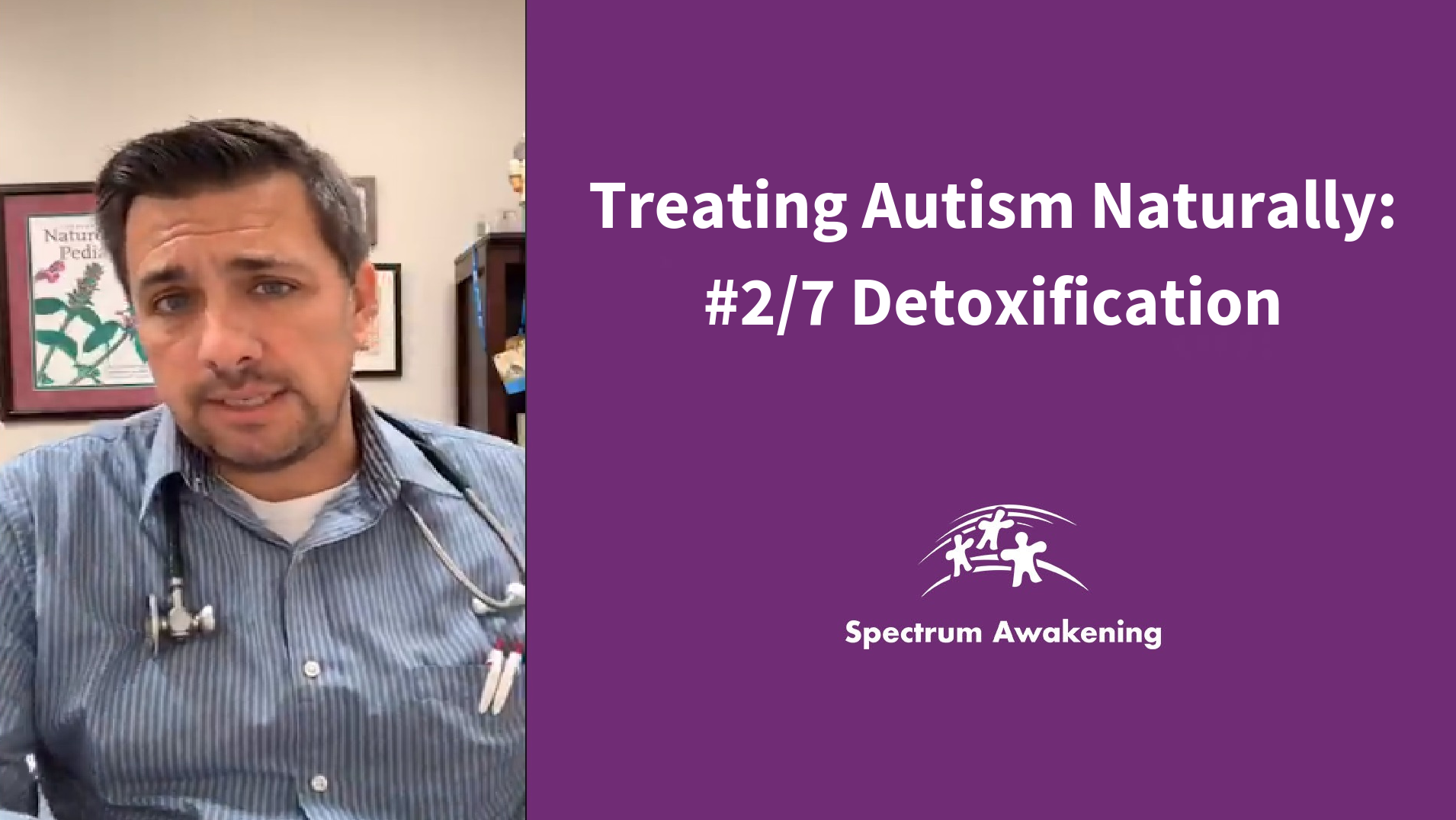 Treating Autism Naturally: #2/7 Detoxification
