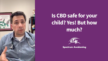 Is CBD safe for your child? Yes! But how much?