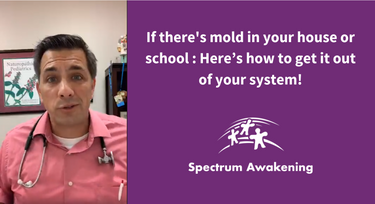 If there's mold in your house or school... Here's how to get it out of your system!