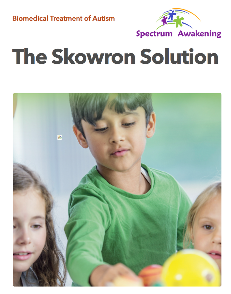 Biomedical Treatment of Autism EBook - The Skowron Solution