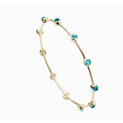 MAYA BRACELET IN BLUE TOPAZ